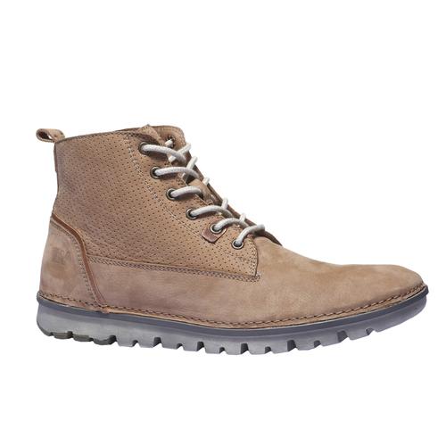 Scarpe di pelle alla caviglia. weinbrenner, marrone, 896-3133 - 13