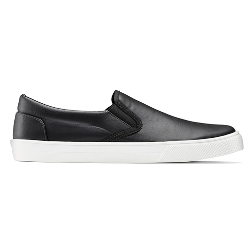 Plimsoll da uomo north-star, nero, 831-6111 - 26