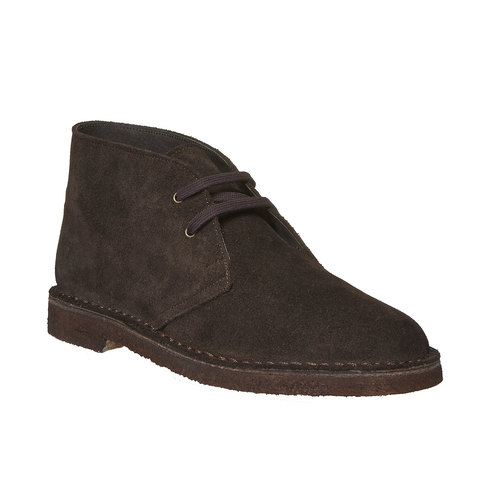 Desert Boots in pelle, marrone, 893-4362 - 13