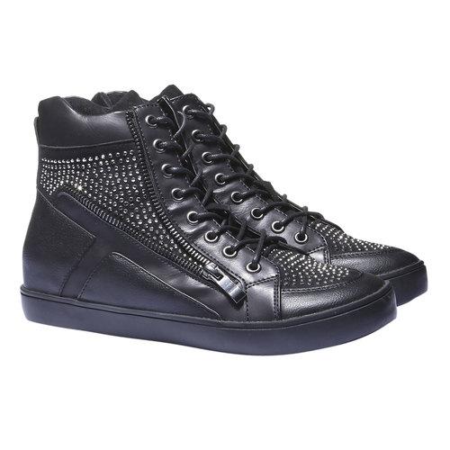 Sneakers alla caviglia north-star, nero, 541-6118 - 26