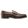 Scarpe da uomo in pelle in stile Loafer bata, marrone, 814-4128 - 26