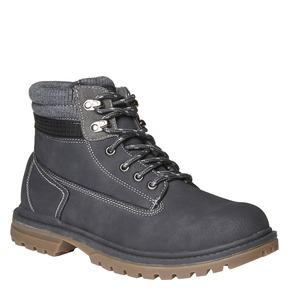 Scarpe alla caviglia con suola appariscente bata, grigio, 891-2438 - 13