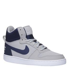 Sneakers da uomo alla caviglia nike, grigio, 801-2332 - 13