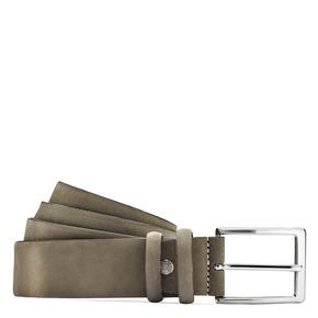 Cintura da uomo in pelle bata, giallo, 954-8120 - 13