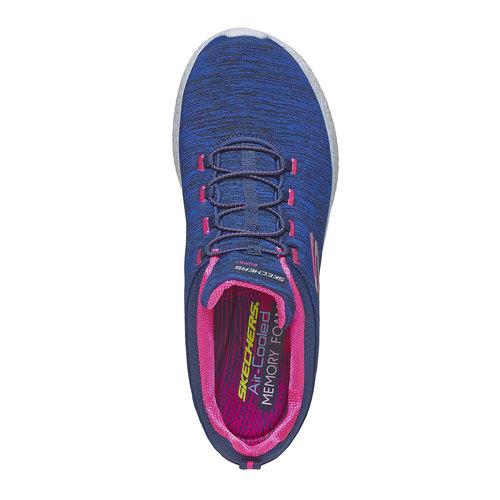 sneaker da donna skechers, viola, 509-9707 - 19