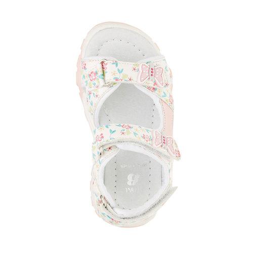 Sandali da bambina mini-b, bianco, 261-1165 - 19