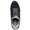 Sneakers da uomo con suola appariscente north-star, nero, 849-6500 - 19
