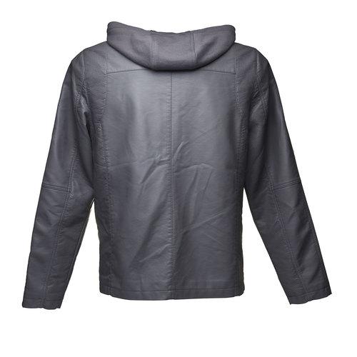 Giacca da uomo con cappuccio bata, grigio, 971-2161 - 26