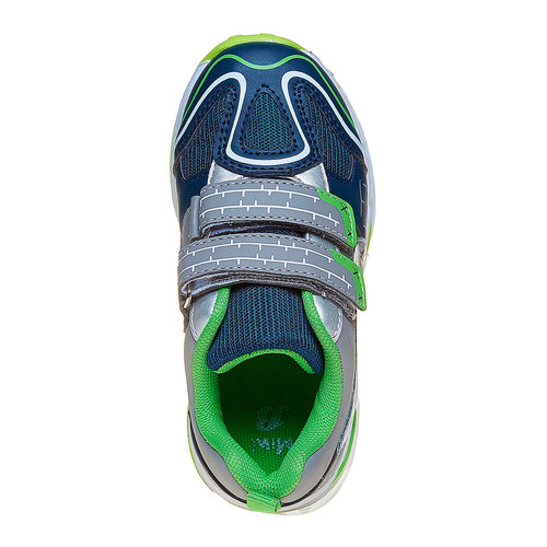 Sneakers da bambino con stampa mini-b, blu, 211-9170 - 19
