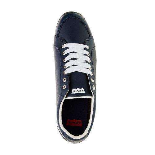 Sneakers da uomo in pelle levis, viola, 844-9509 - 19