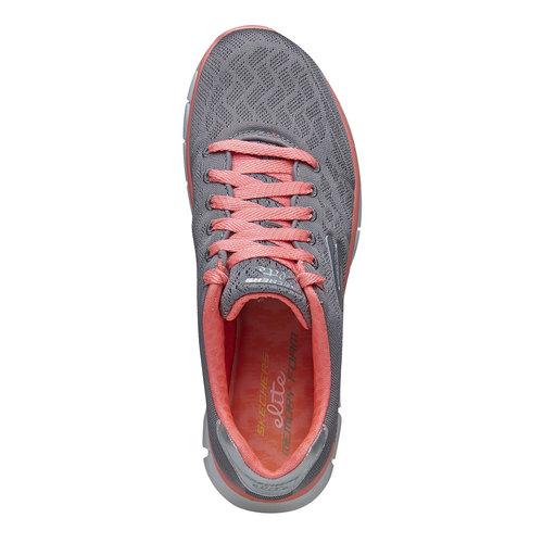 Sneakers sportive da donna skechers, grigio, 509-2659 - 19