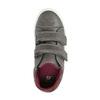 Sneakers da bambino con chiusure a velcro mini-b, grigio, 211-2152 - 19