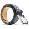 Cintura da uomo in pelle bata, blu, 954-9828 - 26