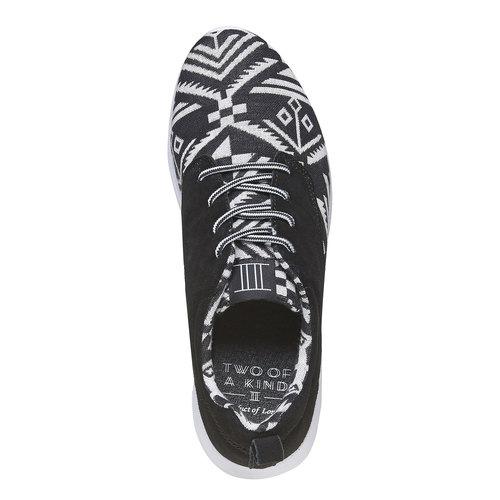 Sneakers con motivo appariscente, bianco, 809-1598 - 19
