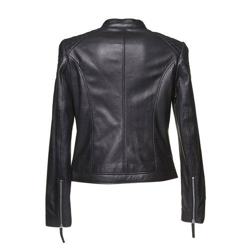 Giacca da donna in pelle bata, nero, 974-6151 - 26