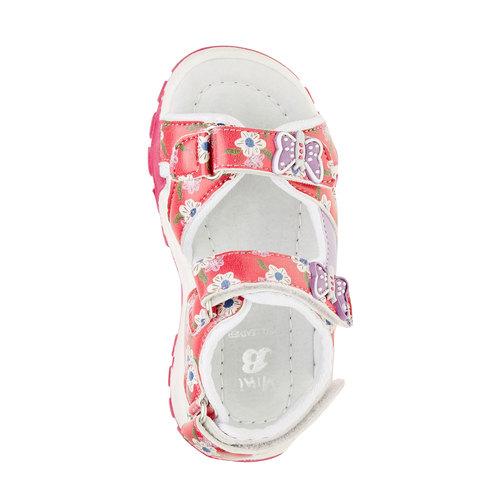 Sandali da bambina mini-b, rosa, 261-0165 - 19