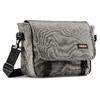 Borsa a tracolla in tessuto eastpack, grigio, 999-6651 - 13