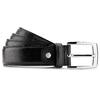 Cintura da uomo in pelle bata, nero, 954-6170 - 13