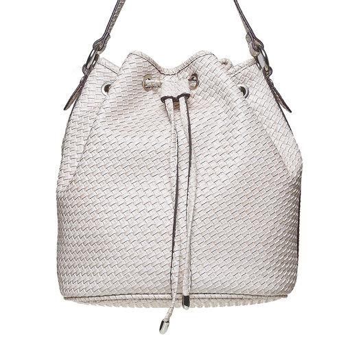 Bucket Bag bata, bianco, 961-1787 - 17