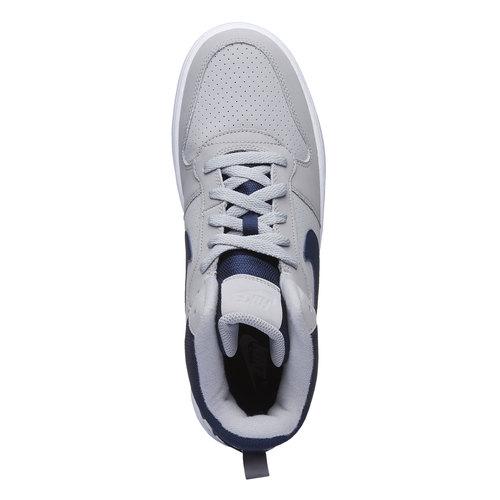 Sneakers da uomo alla caviglia nike, grigio, 801-2332 - 19