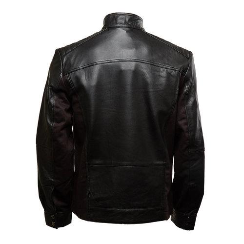 giacca in pelle da uomo bata, nero, 974-6148 - 26