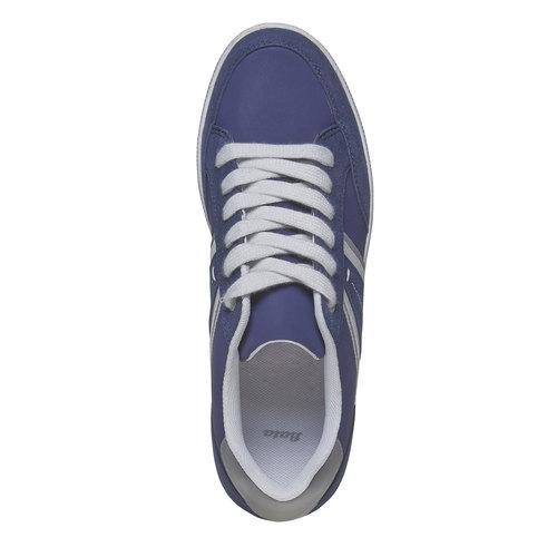 Sneakers informali da uomo bata, blu, 841-9655 - 19