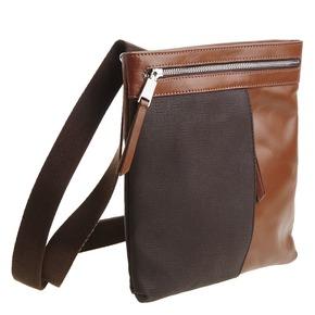 Borsa Crossbody da uomo in pelle bata, marrone, 964-4184 - 13