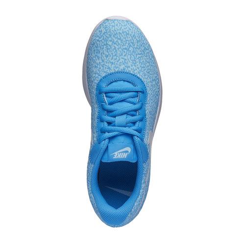 Sneakers da donna in stile sportivo nike, blu, 509-9357 - 19