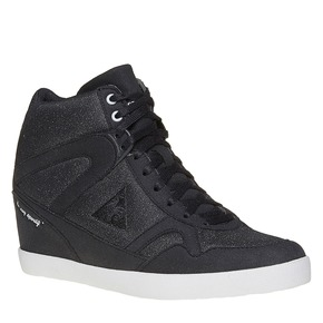 Sneakers nere da donna con zeppa le-coq-sportif, nero, 503-6349 - 13