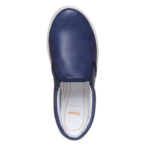 Scarpe da bambino in stile slip-on flexible, viola, 311-9240 - 19