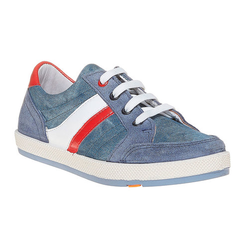 Sneakers con strisce di contrasto flexible, viola, 311-9235 - 13