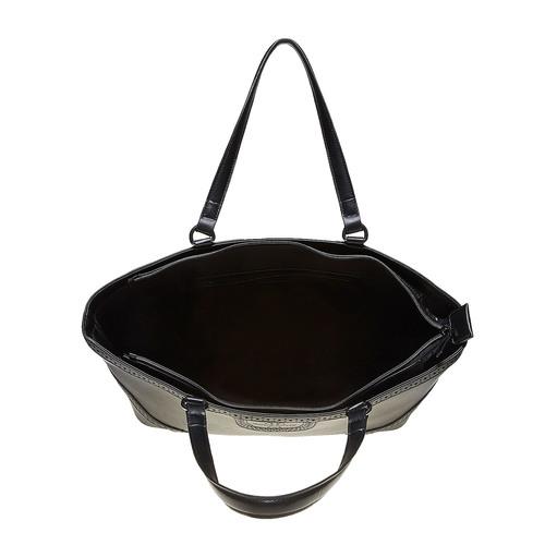 Borsetta in stile Shopper bata, nero, 961-6878 - 15