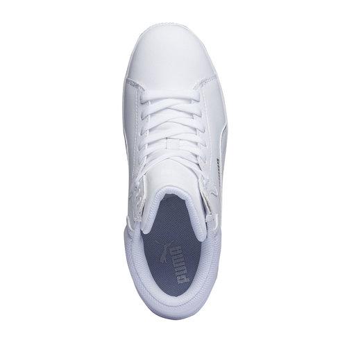Sneakers da donna alla caviglia puma, bianco, 501-1319 - 19