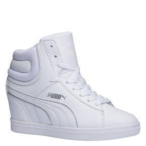 Sneakers da donna alla caviglia puma, bianco, 501-1319 - 13