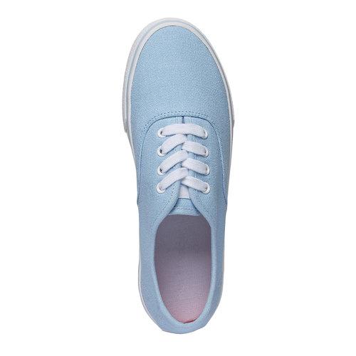 Sneakers di tela north-star, viola, 549-9221 - 19