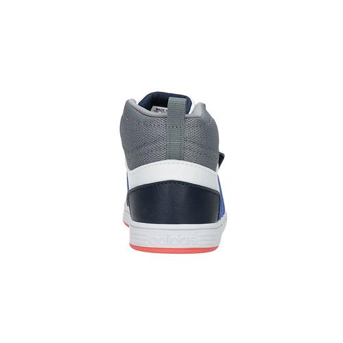 Sneakers da bambino alla caviglia adidas, bianco, 101-1231 - 17