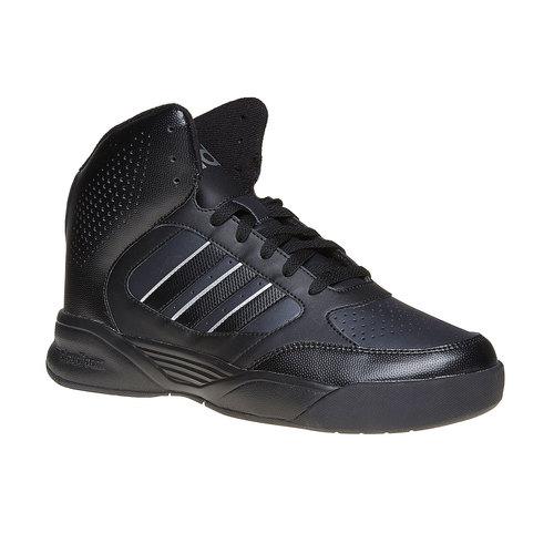 Sneakers nere da uomo alla caviglia adidas, nero, 801-6187 - 13