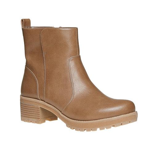 Scarpe alla caviglia da donna bata, marrone, 691-2245 - 13