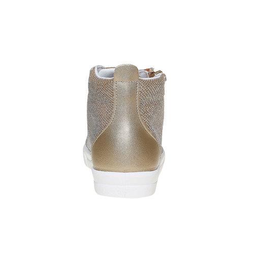 Sneakers dorate alla caviglia north-star, oro, 329-8236 - 17