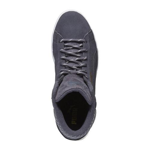 Calzatura sportiva puma, grigio, 503-2318 - 19