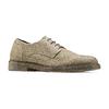 Scarpe basse casual di pelle bata, grigio, 823-2523 - 13