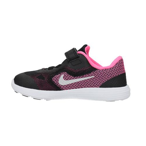 Sneakers da bambina alla moda nike, nero, 109-6322 - 26