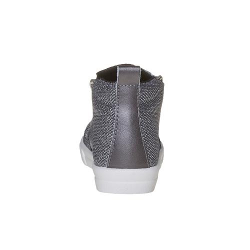 Scarpe da bambina in stile slip-on north-star, grigio, 329-2238 - 17