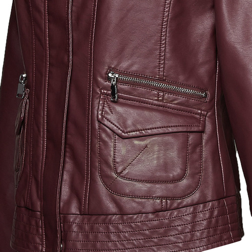 Giacca da donna color bordeaux bata, rosso, 971-5184 - 16