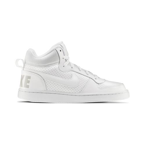 Sneakers bianche sopra la caviglia nike, bianco, 401-1237 - 26