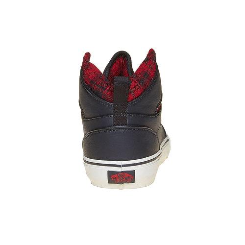 Sneakers da uomo alla caviglia vans, nero, 801-6308 - 17