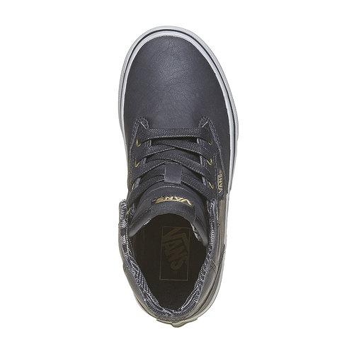 Sneakers da bambino alla caviglia vans, grigio, 401-6310 - 19