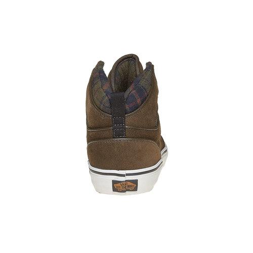Sneakers Vans di pelle alla caviglia vans, marrone, 803-7309 - 17