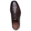 Scarpe basse di pelle con suola ampia bata-light, marrone, 824-4643 - 19