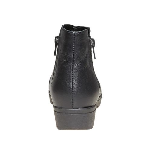Scarpe alla caviglia con plateau sundrops, nero, 594-6101 - 17